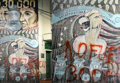 #8M se restaura y reinaugura el mural de ATE Corrientes