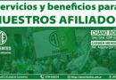 Servicios y beneficios para afiliados y sus familias