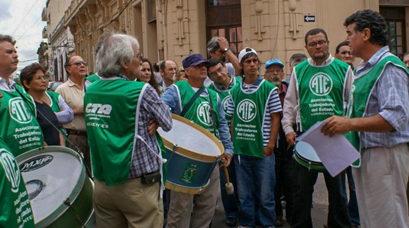 ATE rechaza convocatoria laboral de Municipio y Provincia a trabajadores de grupos de riesgo