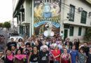 Se restauró mural de ATE en homenaje a las mujeres víctimas de la dictadura