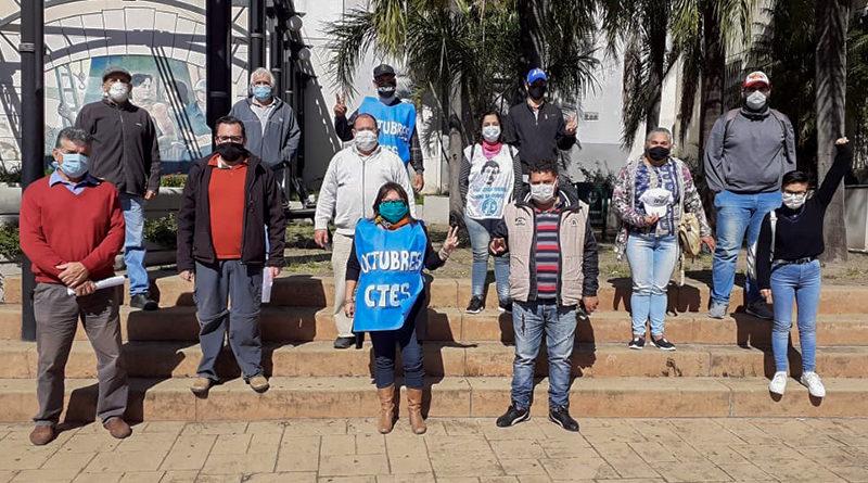 ATE Corrientes y la Mesa de Emergencia Social presentaron petitorios a Provincia y Municipio