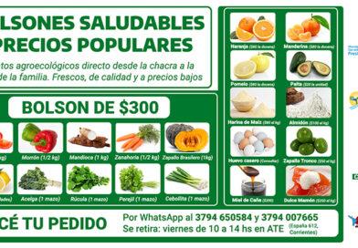 ATE renueva ofertas de alimentos agroecológicos de calidad a precios bajos