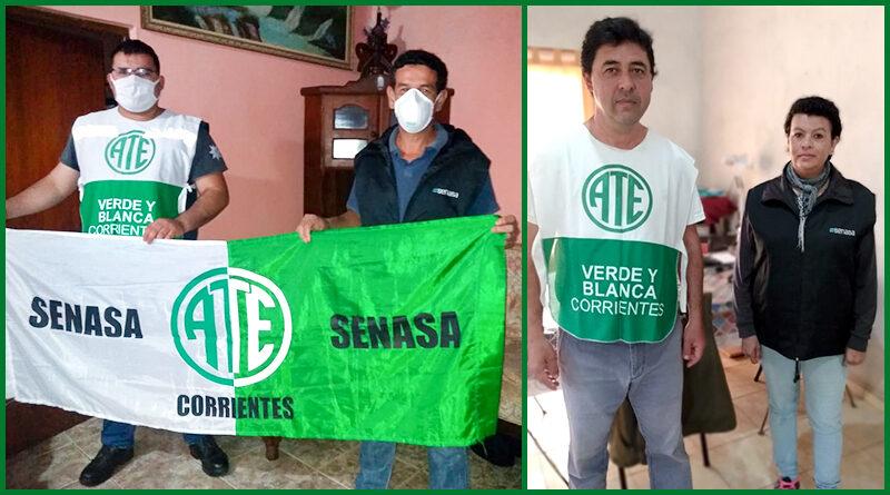 ATE Corrientes logró reincorporaciones en Senasa