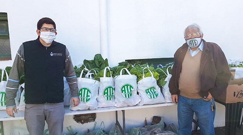 Productores vendieron 10.000 kilos de agroalimentos hasta un 120% más barato
