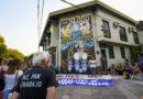 ATE Corrientes restaura su mural en homenaje a las mujeres víctimas de la última dictadura