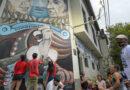 En sede de ATE, se restauró mural en homenaje a las víctimas de la dictadura