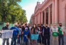 ATE acompaña plan de lucha en demanda de mejores prestaciones del IOSCOR